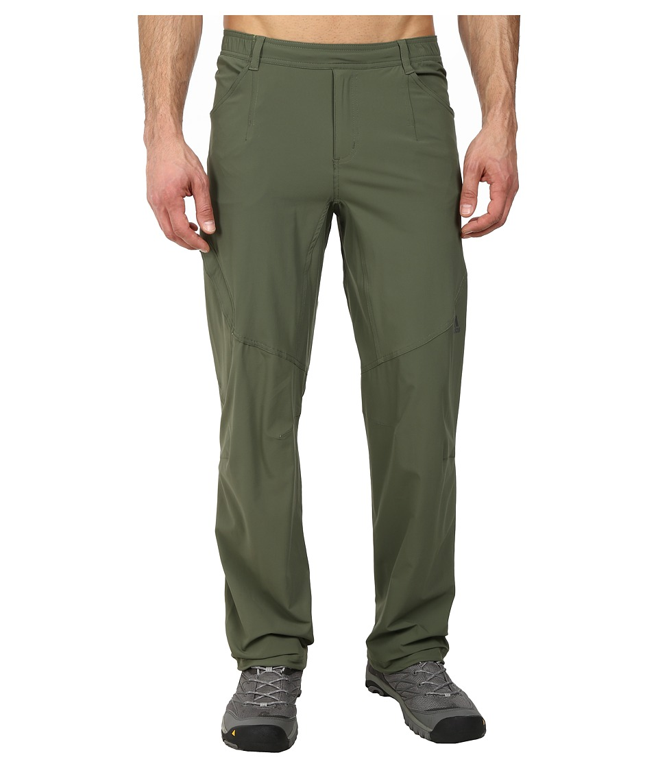 adidas Outdoor - Hiking Packable Pant (Base Green) Men