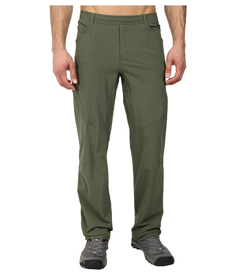 adidas Outdoor - Hiking Packable Pant (Base Green) Men's Workout