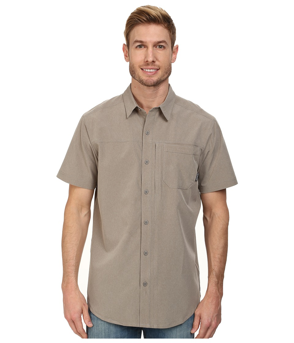 Columbia - Global Adventure II S/S Shirt (Kettle Heather) Men's Short Sleeve Button Up