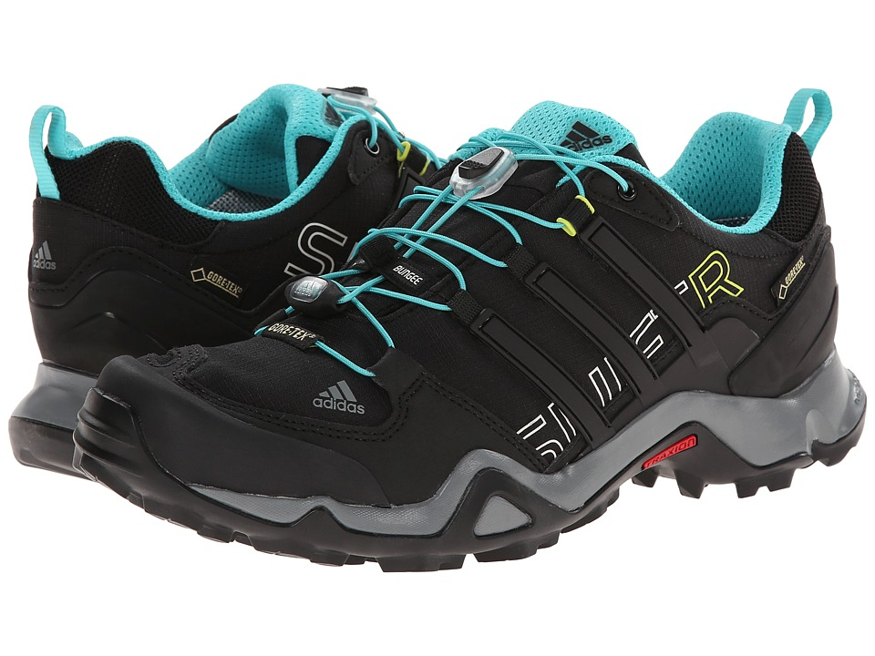 adidas Outdoor - Terrex Swift R GTX W (Black/Vivid Mint/Vista Grey) Women's Shoes
