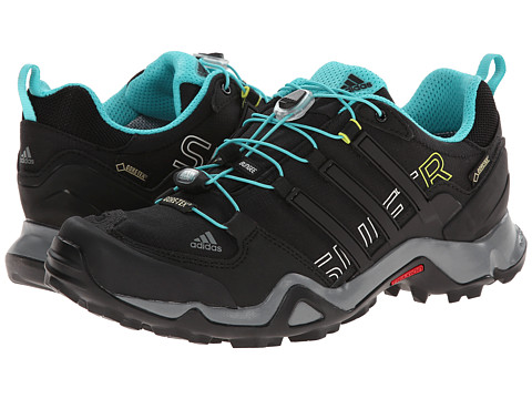 adidas Outdoor - Terrex Swift R GTX W (Black/Vivid Mint/Vista Grey) Women