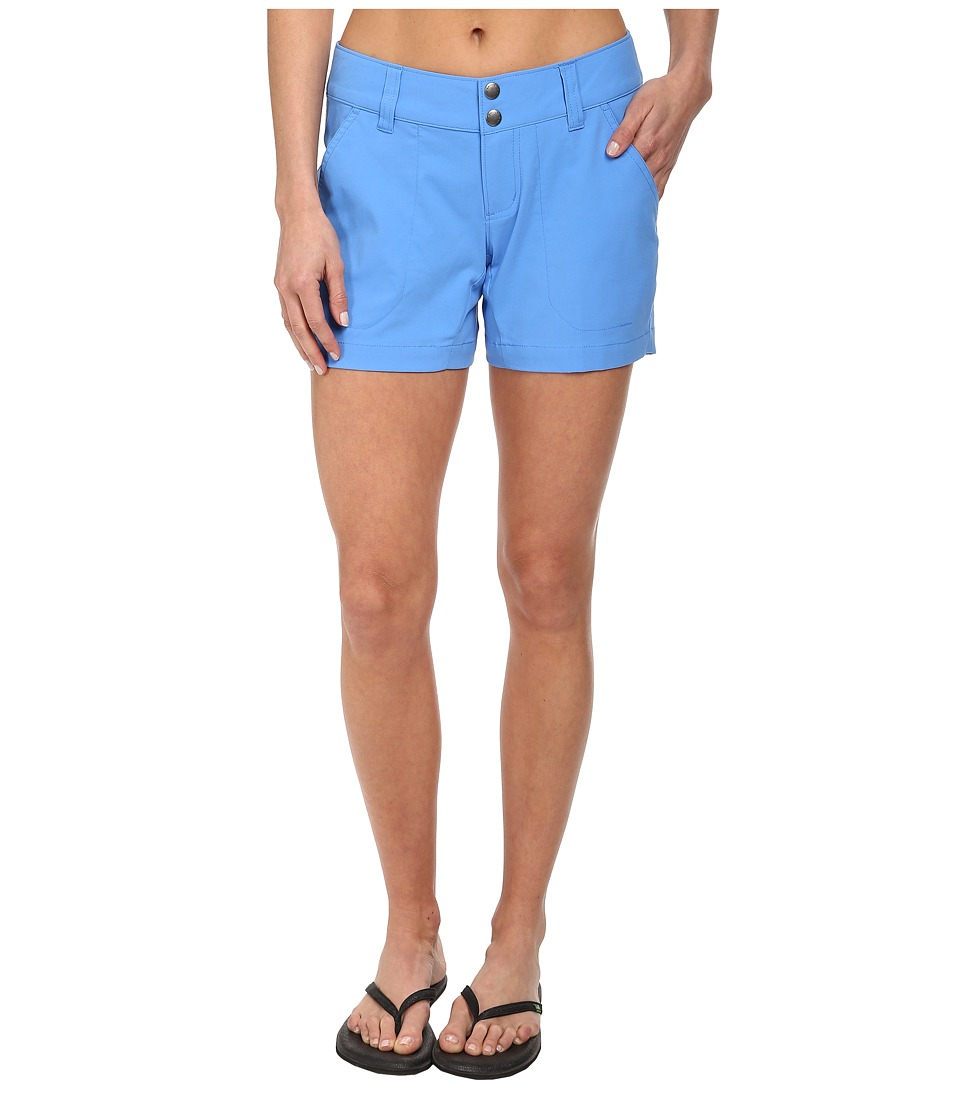 Columbia - Saturday Trail Short (Harbor Blue) Women's Shorts