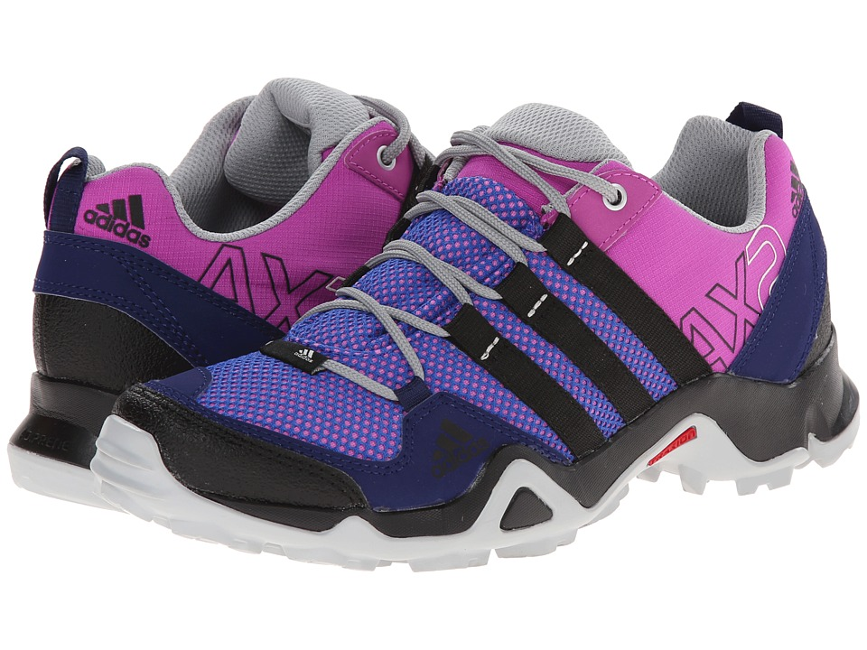 adidas Outdoor - AX 2 W (Flash Pink/Black/Night Sky) Women's Shoes