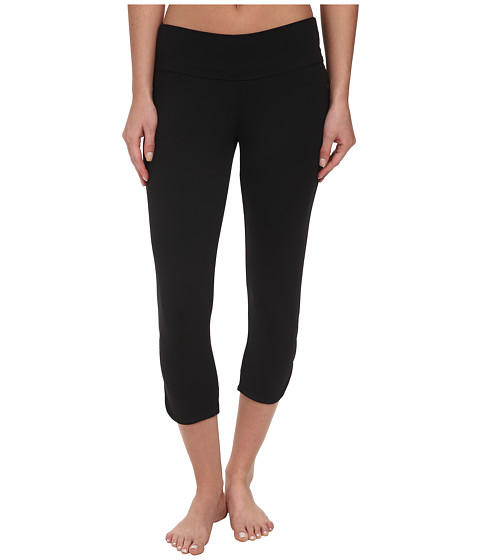 FIG Clothing - Pic Capri (Black) Women's Capri
