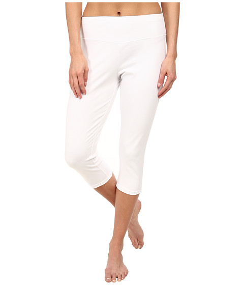 FIG Clothing - Leg Capri (White) Women