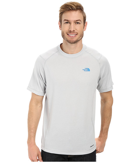 The North Face - Short Sleeve RDT Crew (High Rise Grey) Men