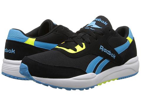 Reebok - Royal Chase (Black/Blue Beam/Solar Yellow/White/Collegiate Royal) Men's Shoes
