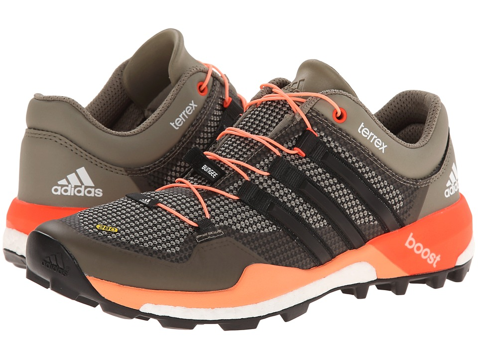 adidas Outdoor - Terrex Boost W (Clay/Black/Flash Orange) Women
