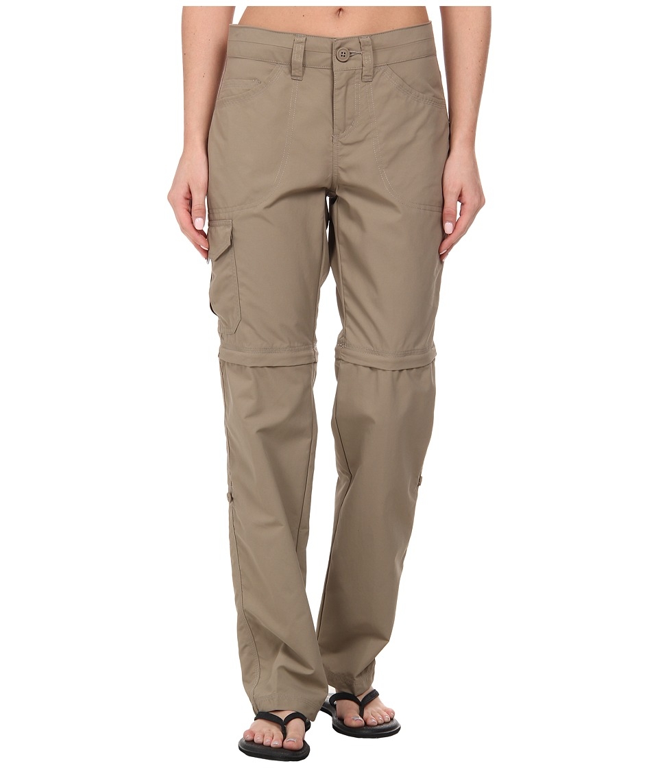 Mountain Hardwear - Mirada Convertible Pant (Khaki) Women's Casual Pants