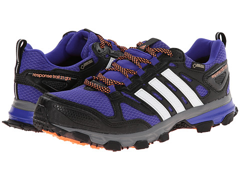 adidas Outdoor - Response Trail W 21 GTX (Night Flash/White/Flash Orange) Women's Running Shoes