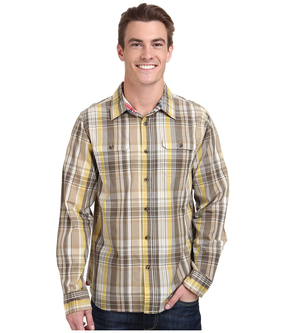 The North Face - Long Sleeve Ridgecrest Shirt (Misted Yellow) Men's Long Sleeve Button Up