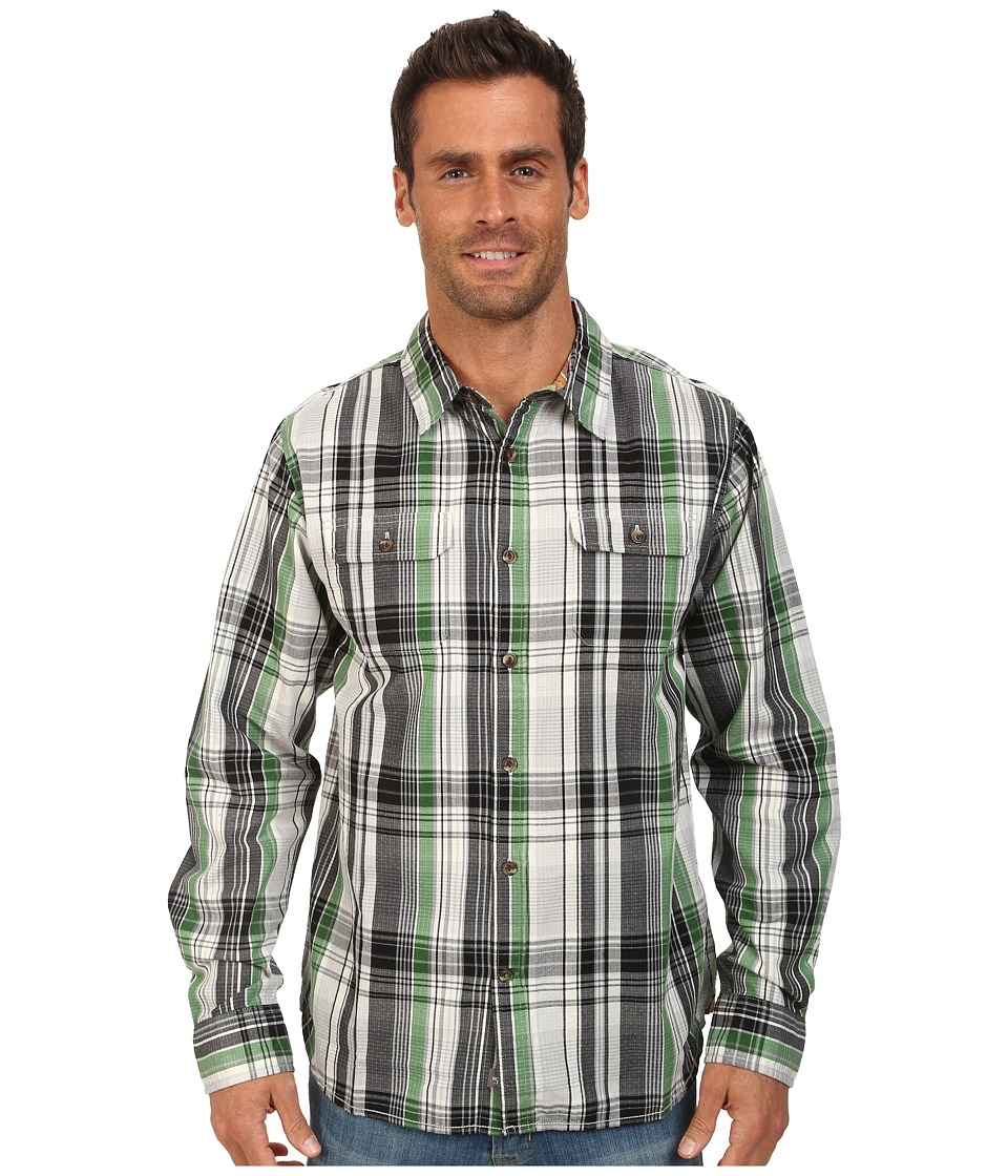 The North Face - Long Sleeve Ridgecrest Shirt (Sullivan Green) Men's Long Sleeve Button Up