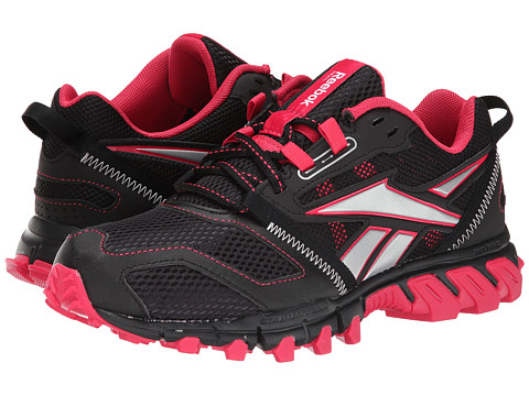 Reebok - Trailgrip RS 3.0 (Black/Blazing Pink/Silver Metallic/White) Women
