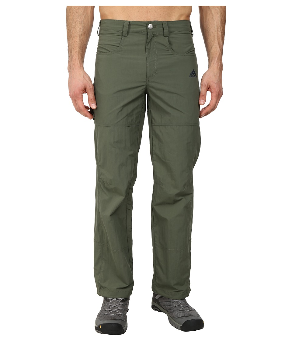 adidas Outdoor - Hiking Hike Pants (Base Green) Men's Casual Pants