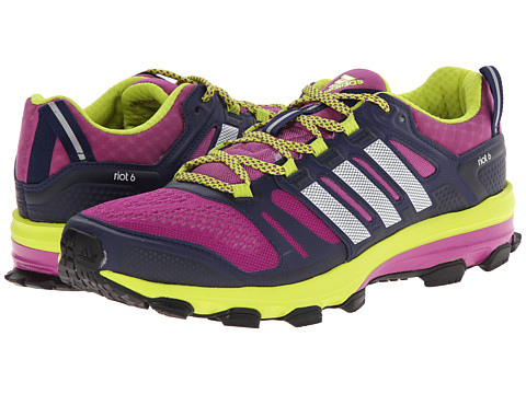 adidas Outdoor - Supernova Riot 6 W (Lucky Pink/White/Semi Solar Yellow) Women's Running Shoes