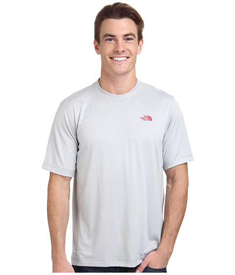 The North Face - Short Sleeve Horizon Crew (High Rise Grey) Men