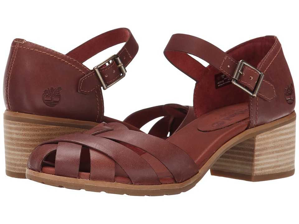 Timberland - Earthkeepers Barnstead Sandal Fisherman (Light Brown Dry Gulch) High Heels