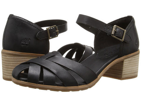 Timberland - Earthkeepers Barnstead Sandal Fisherman (Black Dry Gulch) High Heels