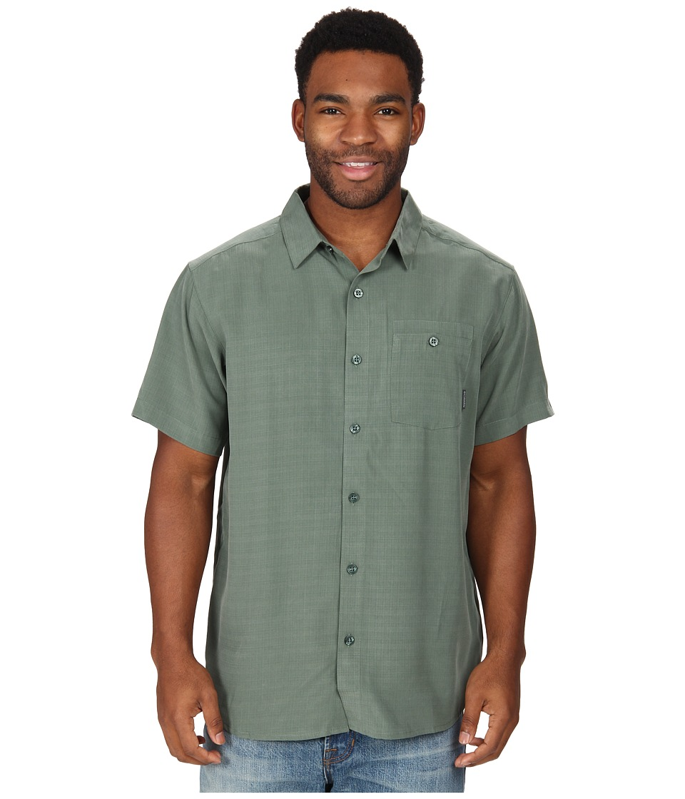 Columbia - Mossy Trail S/S Shirt (Commando Slub) Men's Short Sleeve Button Up