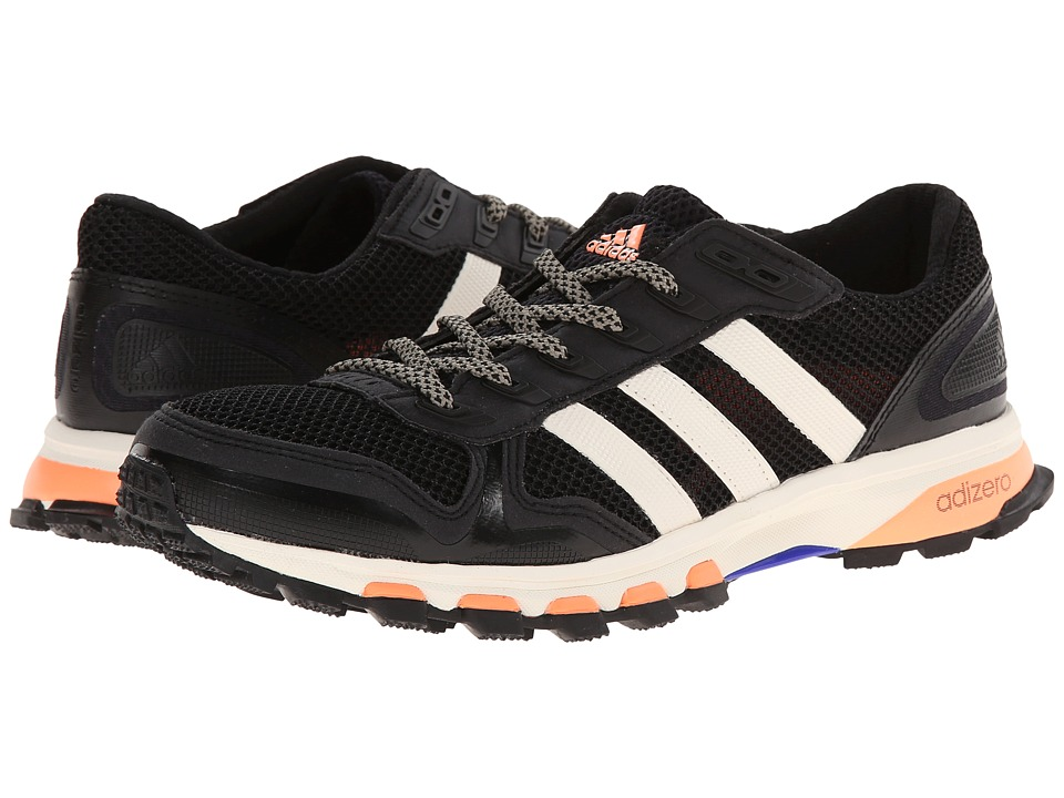 adidas Outdoor - Adizero XT 5 W (Black/Chalk White/Flash Orange) Women's Running Shoes