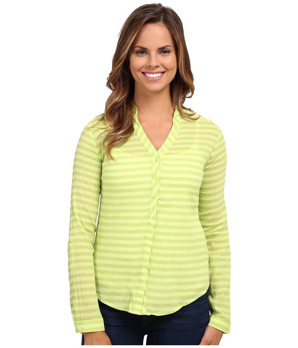Mountain Hardwear - DaraLake Gauze L/S Shirt (Tippet) Women's Blouse