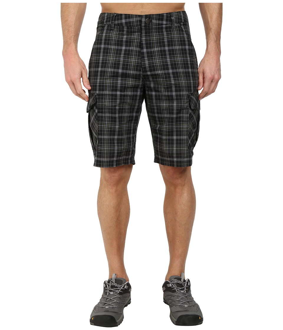 adidas Outdoor - Edo Check Shorts (Black) Men