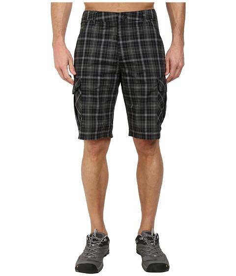 adidas Outdoor - Edo Check Shorts (Black) Men