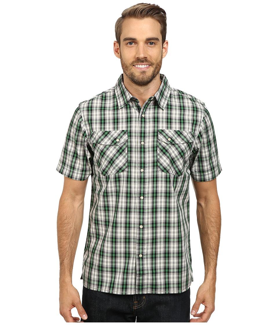 The North Face - Short Sleeve Esken Shirt (Sullivan Green) Men's Short Sleeve Button Up