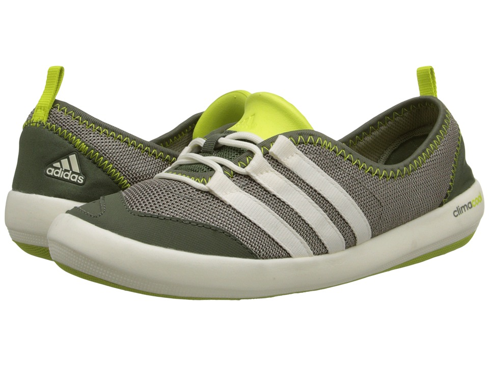 adidas Outdoor - CLIMACOOL Boat Sleek (Clay/Chalk White/Base Green) Women's Shoes