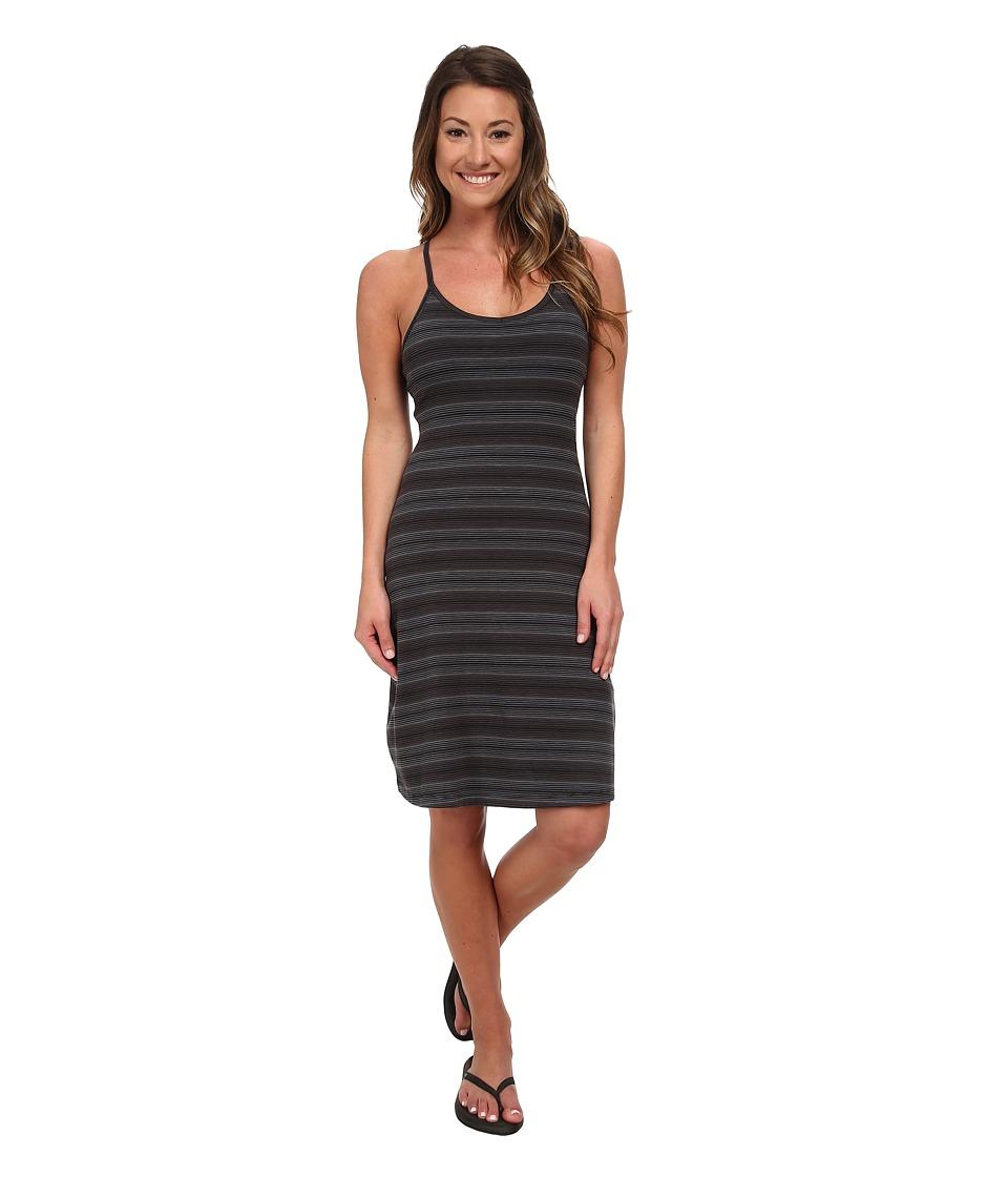 Mountain Hardwear - Tonga Stripe Dress (Black) Women's Dress