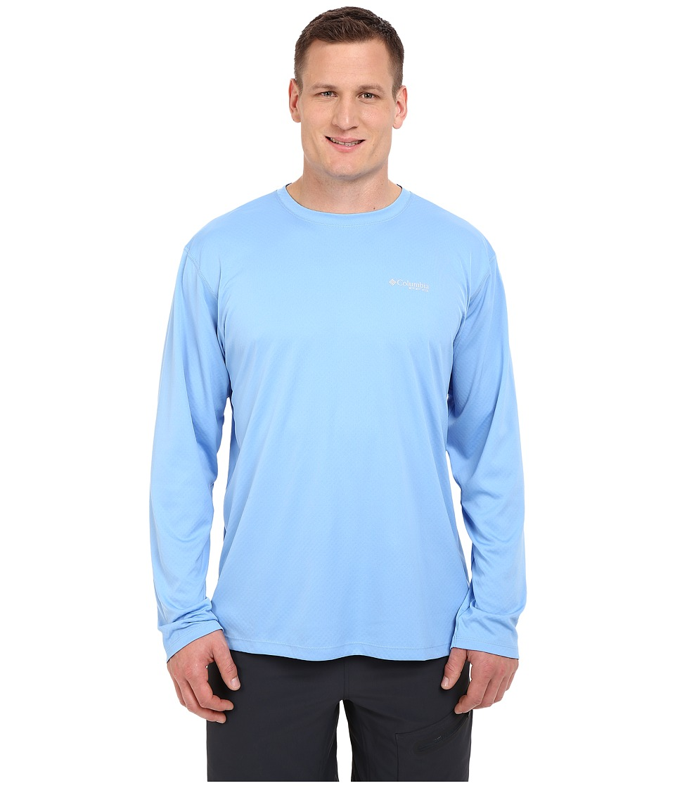 Columbia - PFG ZERO Rules L/S Shirt - Big (White Cap) Men's Long Sleeve Pullover