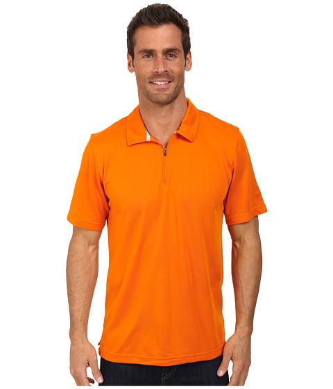The North Face - Short Sleeve Groveland FlashDry Polo (Burnished Orange) Men