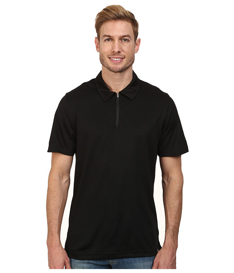 The North Face - Short Sleeve Groveland FlashDry Polo (TNF Black) Men