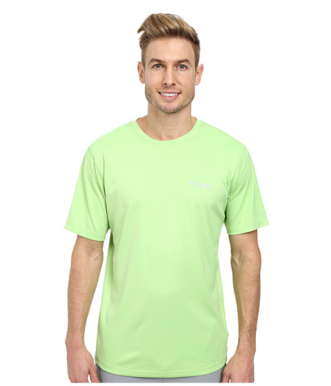 Columbia - PFG ZERO Rules S/S Shirt (Jade Lime) Men's Short Sleeve Pullover