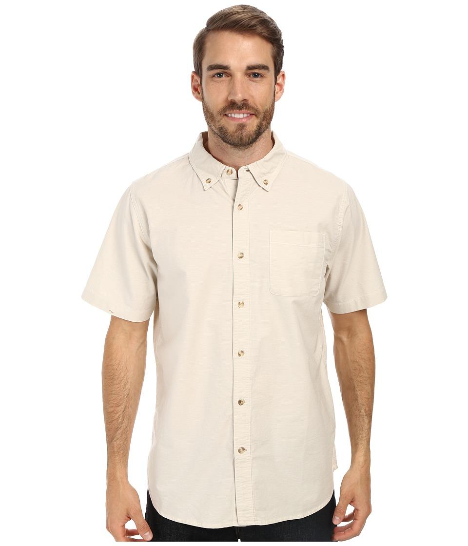 The North Face Short Sleeve Coyote Creek Shirt Moonstruck Grey Mens Short Sleeve Button Up