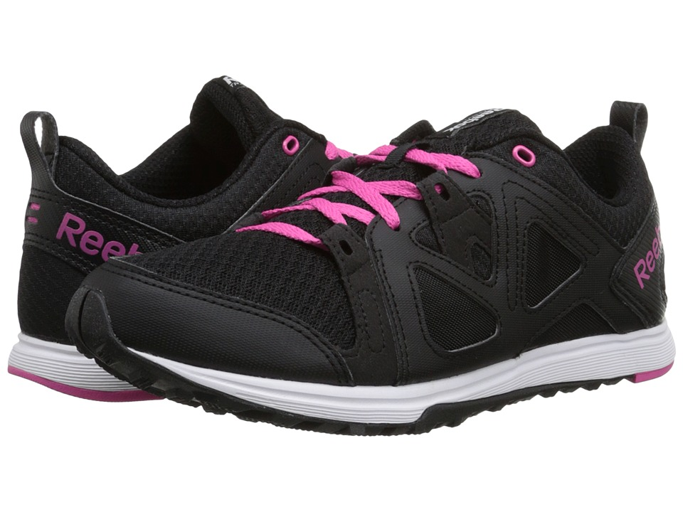 Reebok - Train Fast XT (Black/Pink/White) Women's Shoes