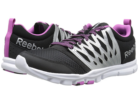 Reebok - YourFlex Trainette 5.0 L MT (Black/Matte Silver/Ultraberry/White) Women's Shoes
