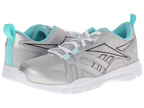 Reebok - Train Motion RS L (Steel/Silver Metallic/Faux Indigo/Crystal Blue/Lush Orchid/White) Women's Shoes