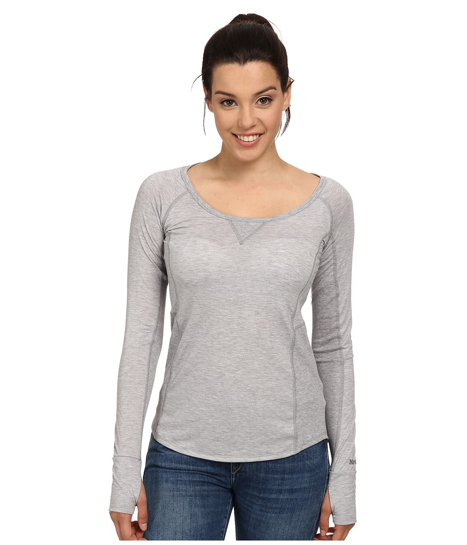 Marmot - Helen L/S (Steel Heather) Women's Clothing