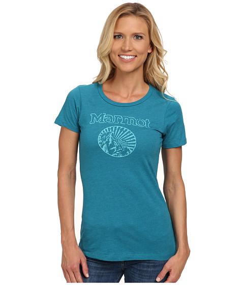 Marmot - Horizon Tee S/S (Teal Heather) Women's T Shirt