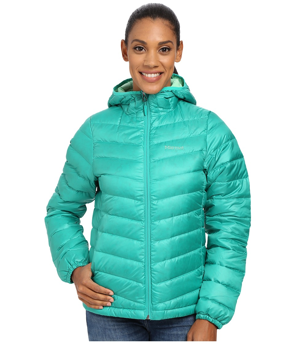 Marmot - Jena Hoody (Gem Green) Women's Coat