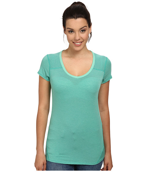 Marmot - Julia S/S (Ice Green/Gem Green) Women's Clothing