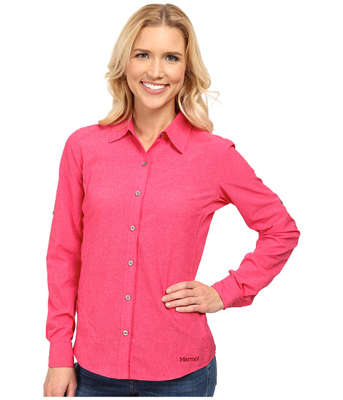 Marmot - Joanna L/S (Summer Pink) Women's Clothing