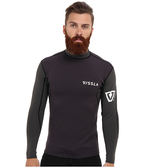 VISSLA - Performance Jacket (Black) Men's Swimwear