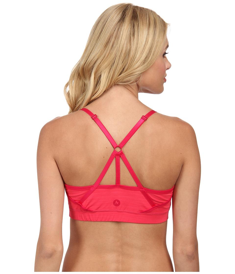 Marmot - Lena Sportsbra (Summer Pink) Women's Bra