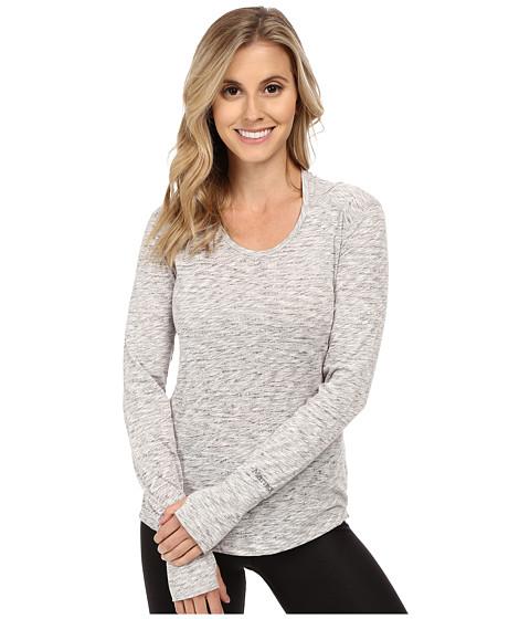 Marmot - Natasha Burnout Hoodie (White) Women's Sweatshirt