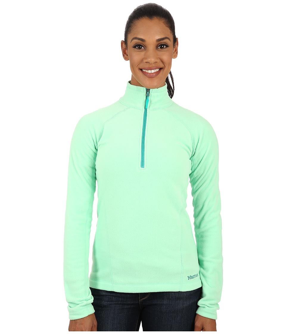 Marmot - Rocklin 1/2 Zip (Green Frost) Women's Clothing
