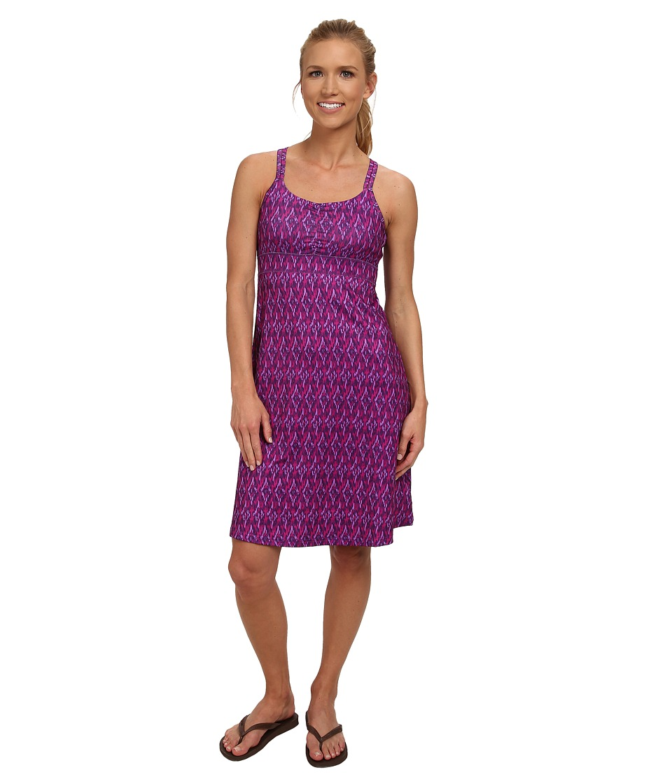 Marmot - Taryn Dress (Spring Purple Ikat) Women's Dress