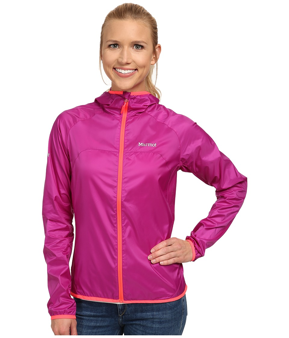 Marmot - Trail Wind Hoodie (Beet Purple) Women's Jacket