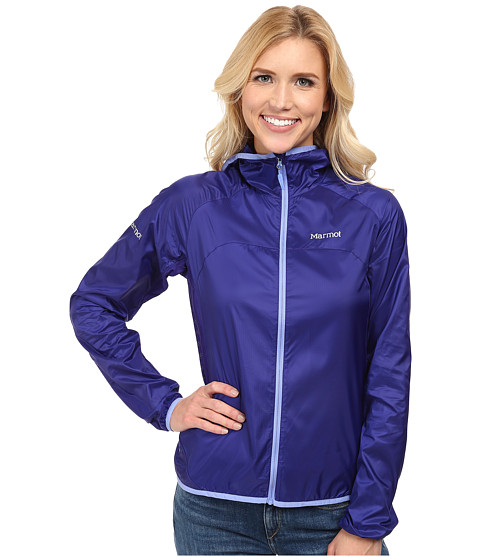 Marmot - Trail Wind Hoodie (Midnight Purple) Women